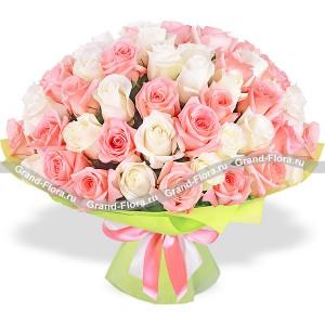 Купить пионовидные розы самара